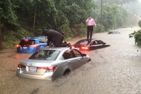 PHOTOS: Roads flood across DC region