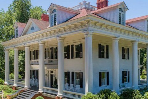 Mansion that inspired the one in 'Gone With the Wind' is now for sale