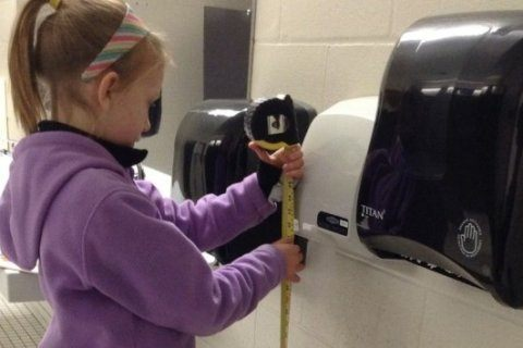 13-year-old's research on hand dryers and kids published in scientific journal