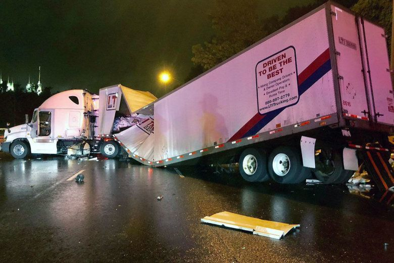 Early morning crashes kill one, clog Capital Beltway and I-270 for 8 hours