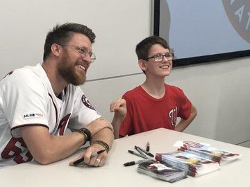 Nationals' Sean Doolittle shows support for DC's summer reading program