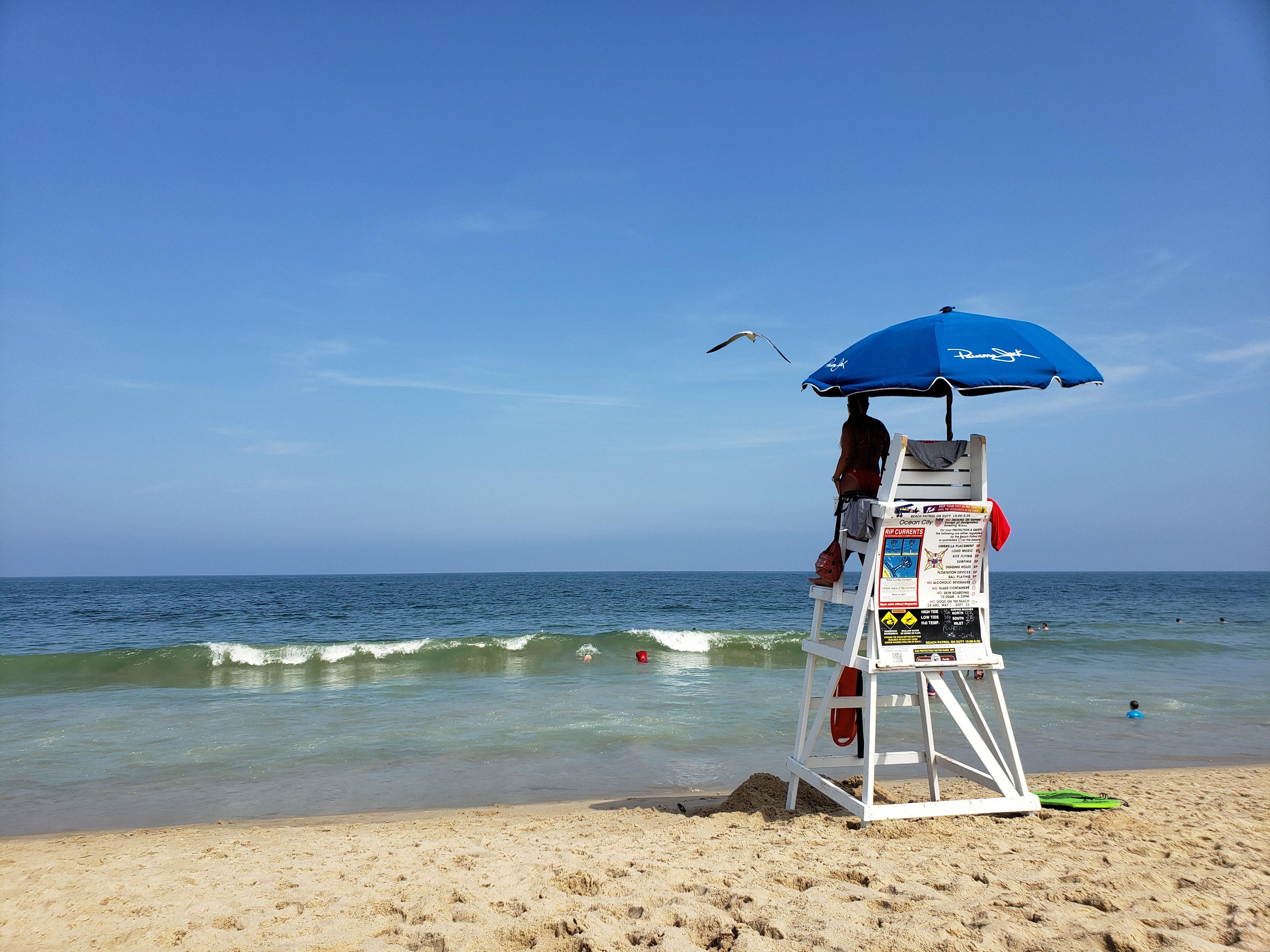lifeguard in Ocean City