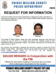 reward increase for information