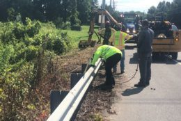 <p>As crews continue with repairs, Gischlar said the road closure could last through until Thursday morning.</p>