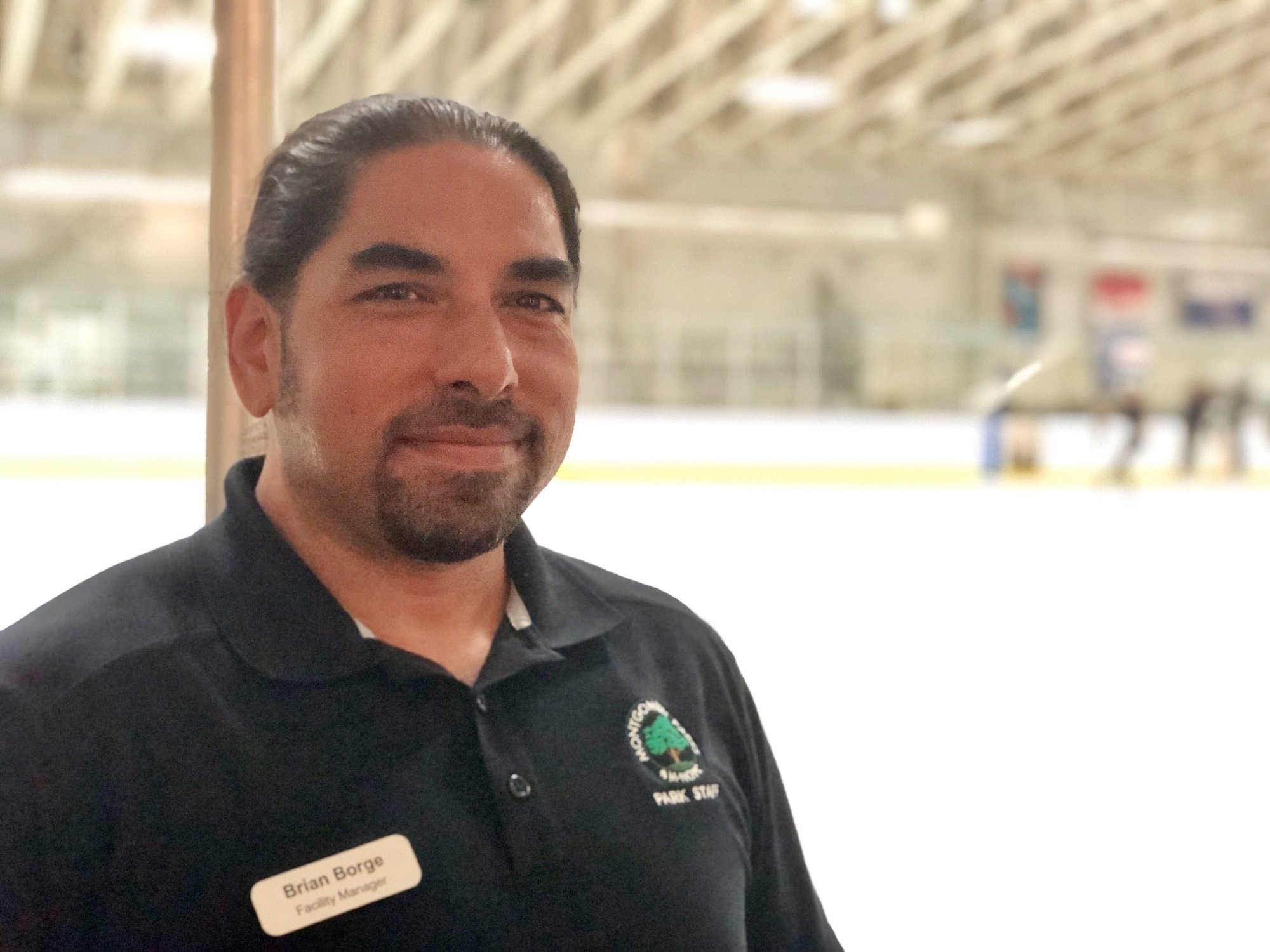 Brian borge, cabin john ice rink