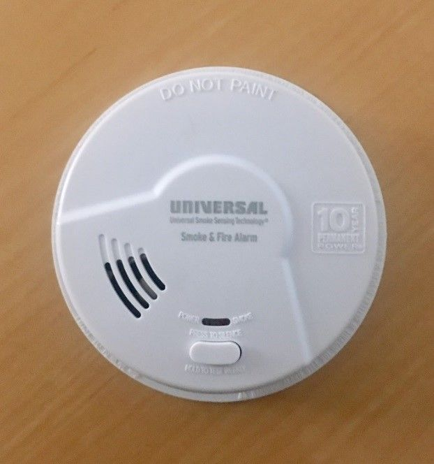Smoke alarm that has been recalled