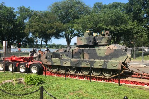 Tank watch 2019: July 4 military vehicles on the move in DC