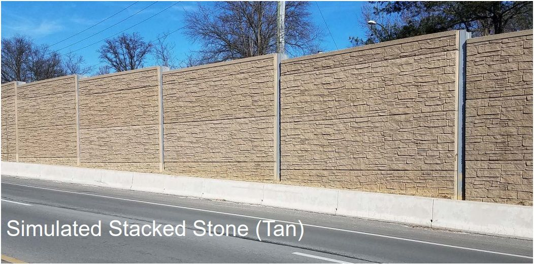The proposed sound wall to minimize noise from traffic on I-66. (Courtesy Virginia Department of Transportation)
