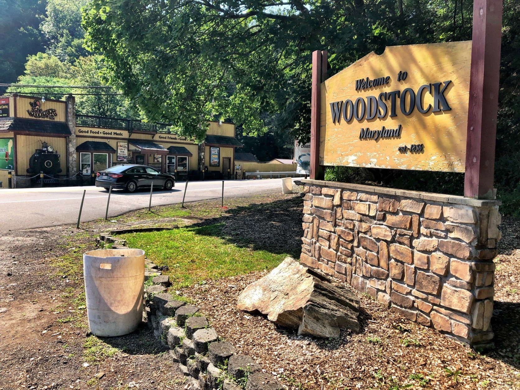 woodstock maryland sign