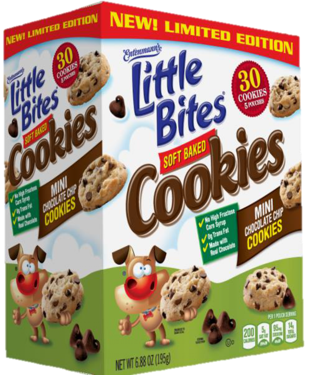Entenmann's  Little Bites Soft Baked Chocolate Chip Cookies