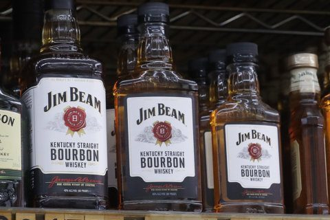 Top-selling liquor brands at Virginia ABC stores