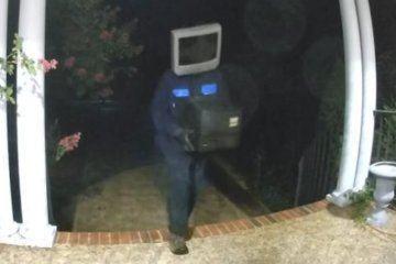 Old TVs left on Virginia porches in bizarre prank