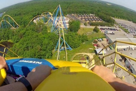 5 scariest roller coaster drops around the world