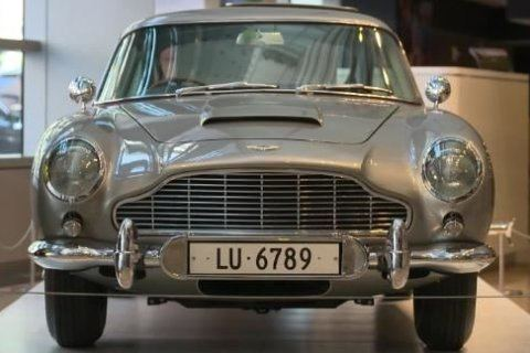 This James Bond Aston Martin was just auctioned for $6.4 million