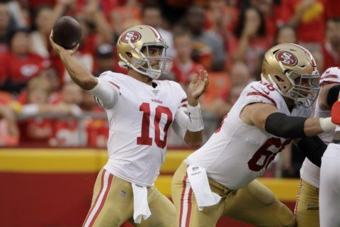 Garoppolo shines in 27-17 win over Mahomes, Chiefs
