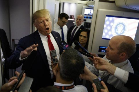 Trump, getting facts wrong, says he may free Blagojevich