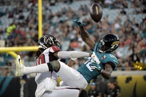 Falcons end preseason skid with 31-12 victory at Jaguars