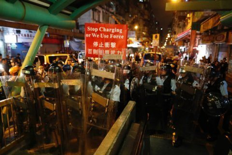From peaceful demonstrations to violent confrontations: The evolution of the Hong Kong protests