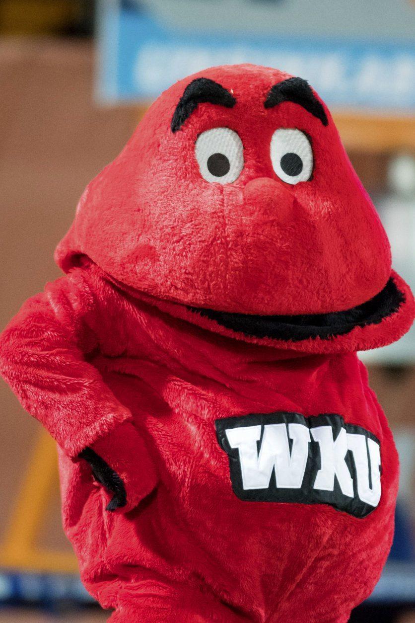 <p>8. Big Red, Western Kentucky University</p>