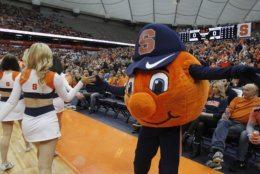 <p>9. Otto the Orange, Syracuse University</p>
