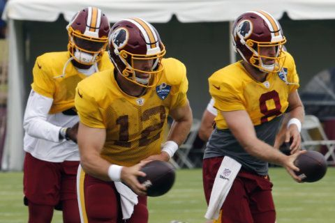 Colt McCoy won't be Redskins starting QB