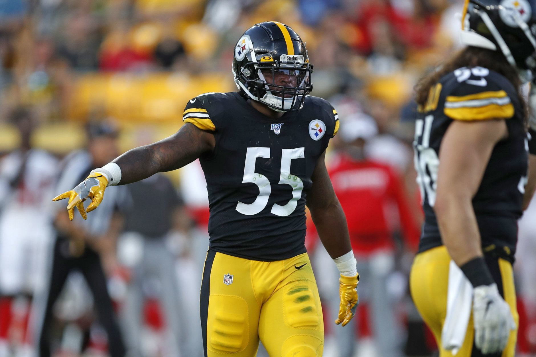 <p><strong>Defensive Rookie of the Year:</strong></p> <p>Devin Bush &#8211; Pittsburgh Steelers</p>