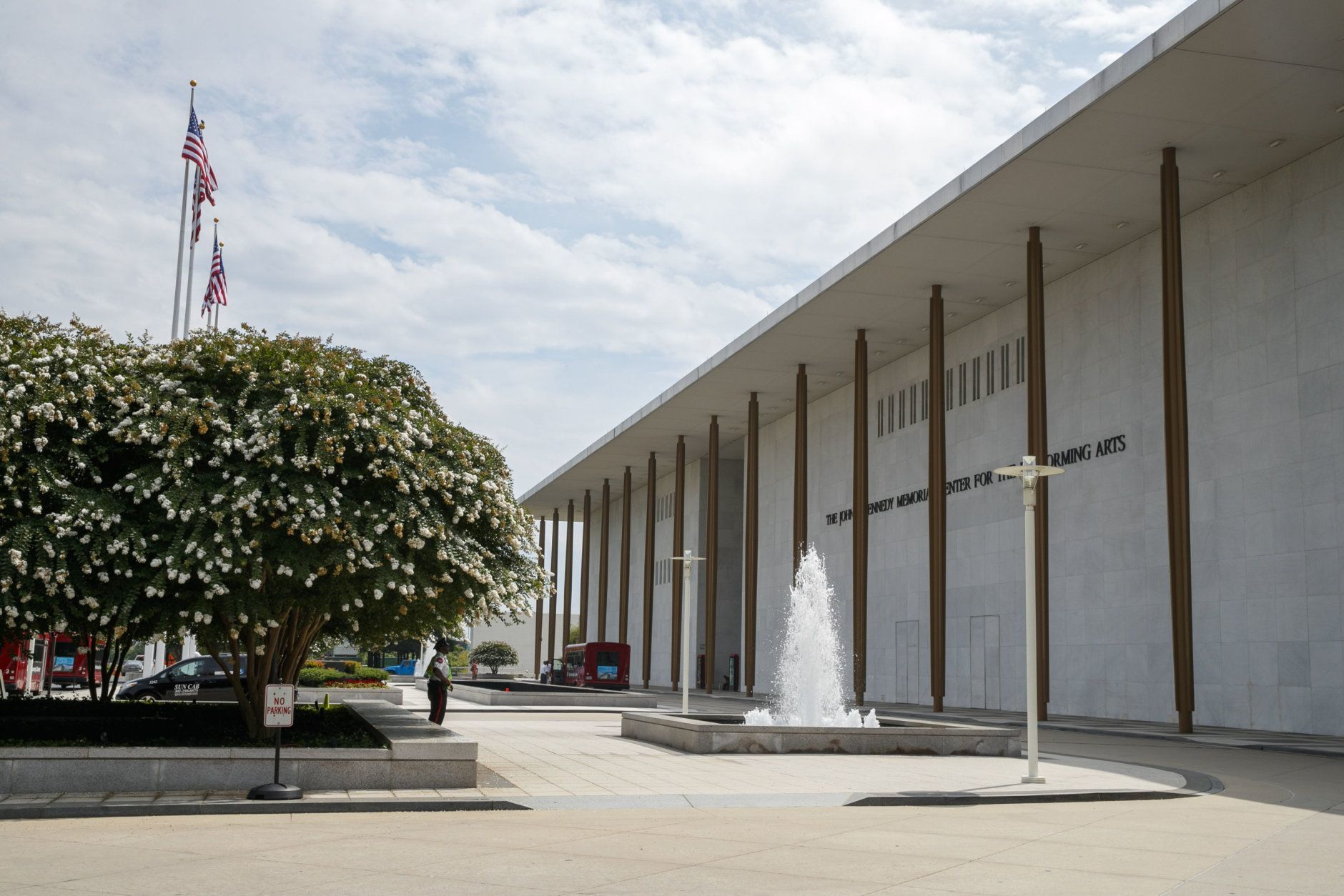"""<p><strong>Free concerts at The Kennedy Center</strong></p> <p>If your family enjoys the arts, take them to a show at the Kennedy Center. Put your credit card away — this one won&#8217;t cost you anything.</p> <p>Every day, the Kennedy Center puts on free performances at its Millennium Stage at 6 p.m. — perfect if you&#8217;re looking for a predinner activity or are trying to keep it an early evening. For the full calendar of events, <a href=""""http://www.kennedy-center.org/video/upcoming"""" target=""""_blank"""" rel=""""noopener noreferrer"""">visit the venue&#8217;s website</a>.</p> <p>New in 2019 is <a href=""""https://cms.kennedy-center.org/festivals/reach/schedule"""" target=""""_blank"""" rel=""""noopener"""">The REACH</a>, which opened in September. The expansion is a new way of imagining the intersection between audiences and art.</p>"""