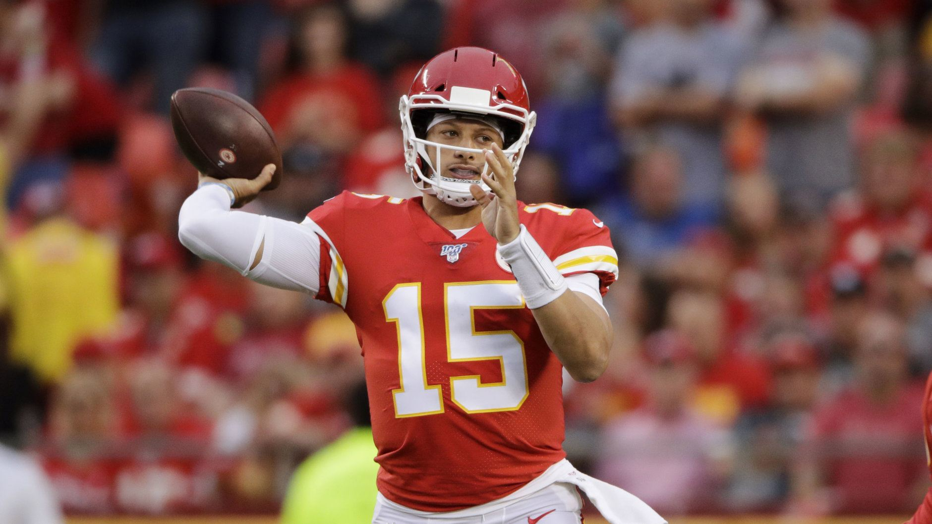 <p><strong>Offensive Player of the Year: </strong></p> <p>Patrick Mahomes &#8211; Kansas City Chiefs</p>