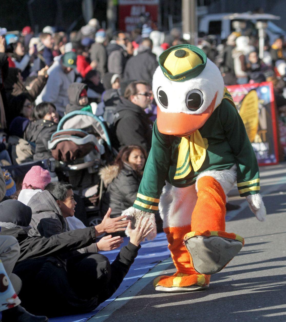 <p>2. The Duck, University of Oregon</p>