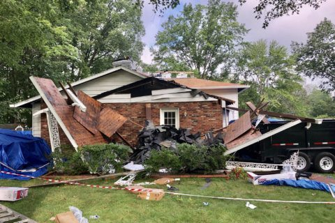 Worker injured in Montgomery Co. carport collapse