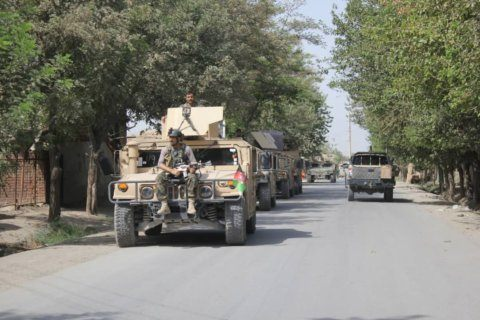 Taliban launches major attack on Afghan city, as talks with US go on in Doha