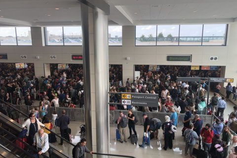 Customs' system back online at US airports, including Dulles
