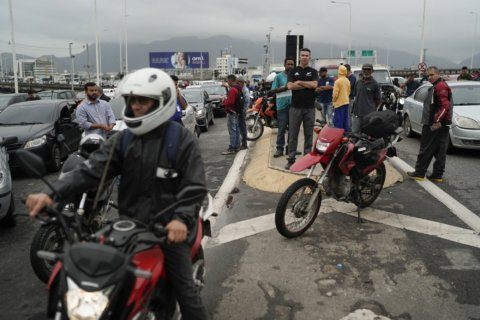 The Latest: Police fatally shoot Rio bus hostage-taker