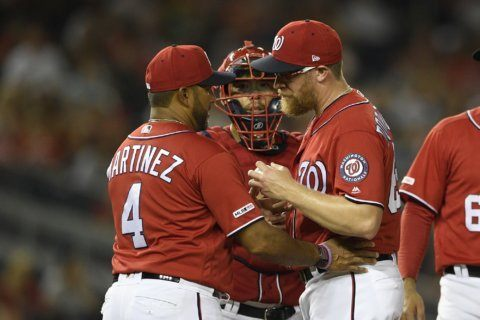 Nats put struggling closer Doolittle on 10-day injured list