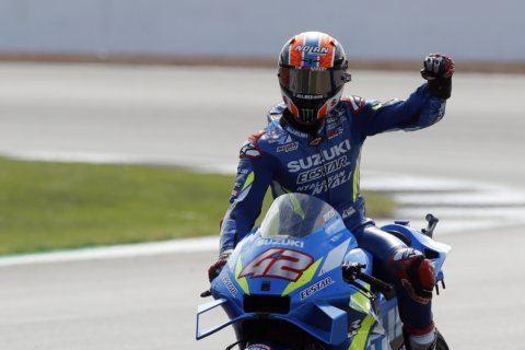 Alex Rins snatches MotoGP win at Silverstone