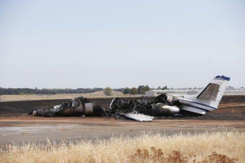 Atlanta-based company execs survived California plane crash