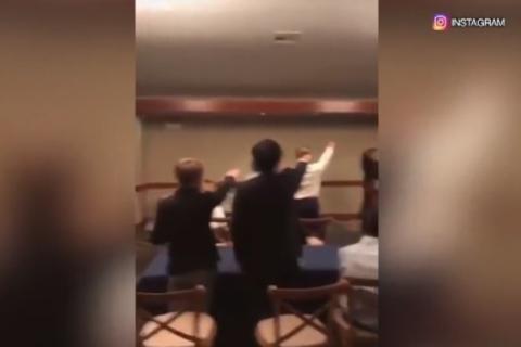 School condemns video of high schoolers giving Nazi salute