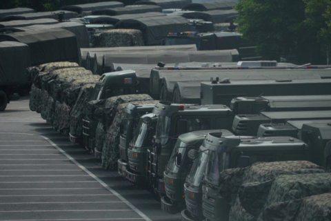 Chinese paramilitary exercises near Hong Kong seen as threat