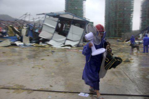 Typhoon leaves 28 dead in China, 20 still missing
