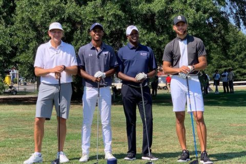 With an assist from Steph Curry, Howard U. launches Division I golf