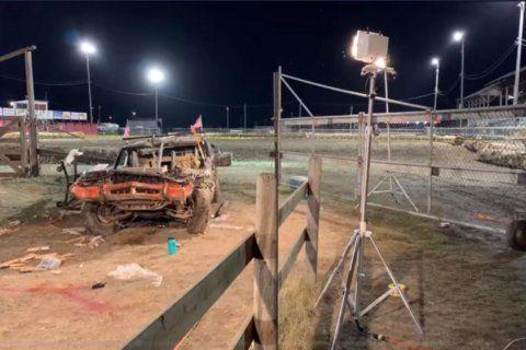 Montana demolition derby crash kills 1, injures at least 7