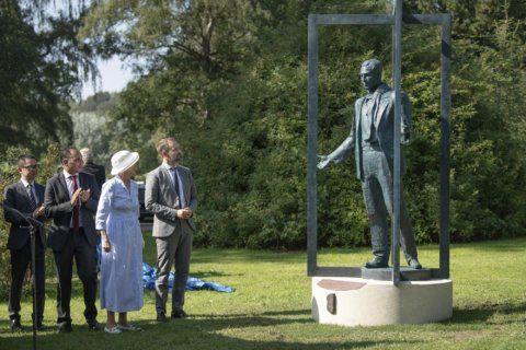 Statue honors Dane credited as Nanjing Massacre lifesaver