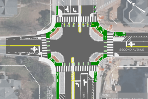 Montgomery Co. to get first 'protected intersection' on the East Coast