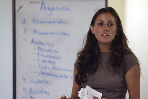 Texas Latina activist condemns hate in launching Senate bid