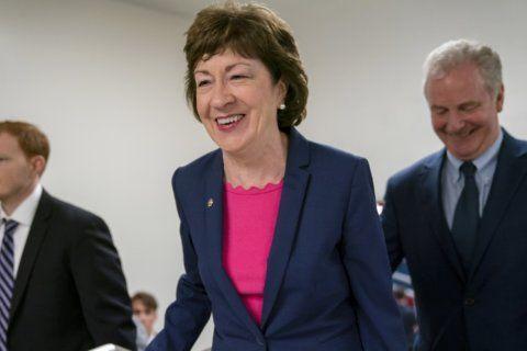 Outside money flows into race for Susan Collins' Senate seat