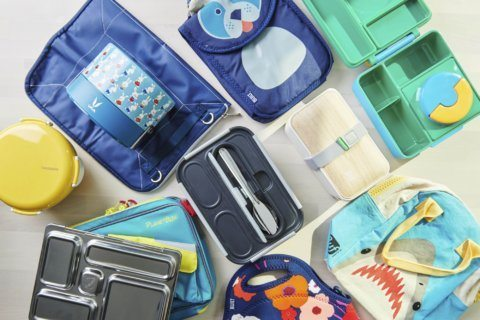 Lots of new lunchboxes to kick off the new school year