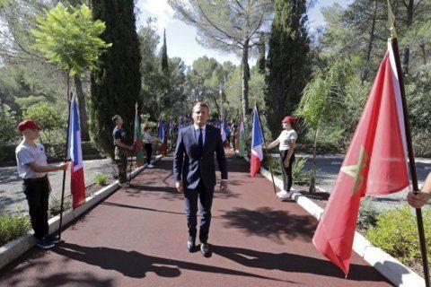 France honors African veterans of World War II landings