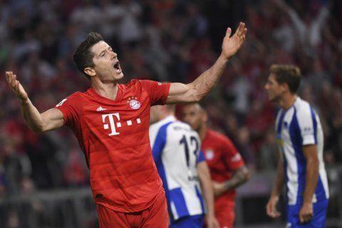 Bayern at Bochum in German Cup; Borussia teams to clash