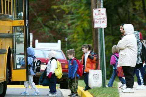 Students are back to class in Virginia's 2 largest counties, Fairfax and Prince William