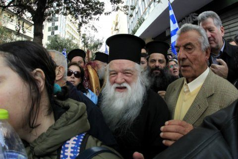 Greek Orthodox bishop convicted of hate speech resigns